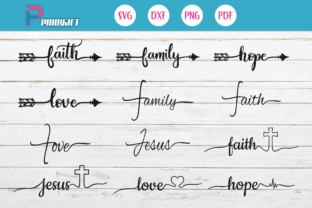 Download Free Faith Love Family Graphic By Pinoyartkreatib Creative Fabrica for Cricut Explore, Silhouette and other cutting machines.