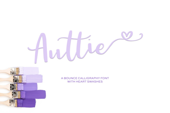 Print on Demand: Auttie Script & Handwritten Font By BeckMcCormick