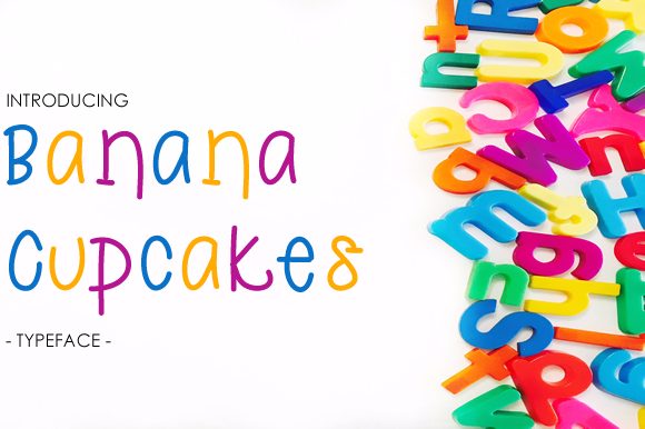 Print on Demand: Banana Cupcakes Sans Serif Font By yh.seaofknowledge