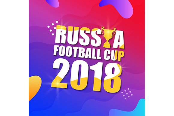 Banner Design World Cup 2018 Graphic Illustrations By indostudio
