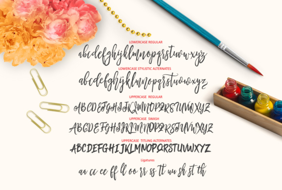 Print on Demand: Be Smart Script Script & Handwritten Font By joelmaker - Image 7