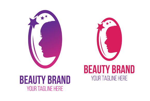 Beauty  Brand Logo and Business Card Template