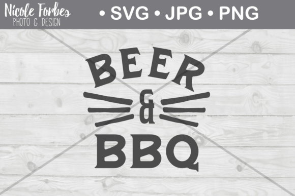 Download Free Beer Bbq Cut File Graphic By Nicole Forbes Designs Creative for Cricut Explore, Silhouette and other cutting machines.