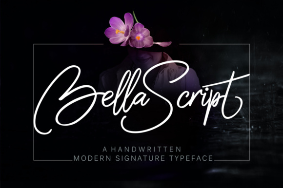 Print on Demand: Bella Script & Handwritten Font By joelmaker