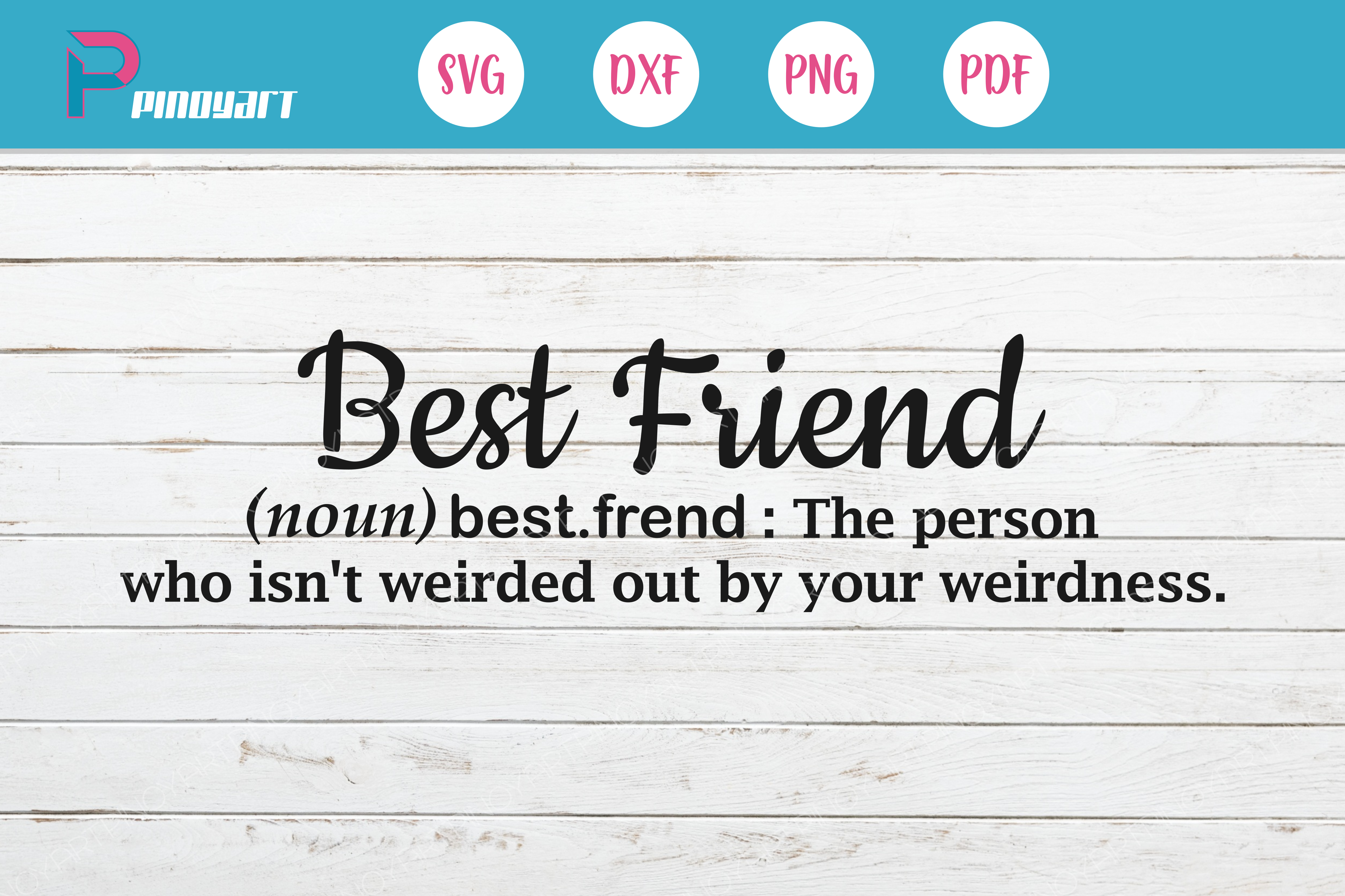 Download Free Best Friend Graphic By Pinoyartkreatib Creative Fabrica for Cricut Explore, Silhouette and other cutting machines.