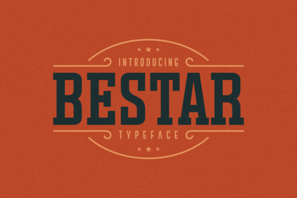 Print on Demand: Bestar Slab Serif Font By Situjuh