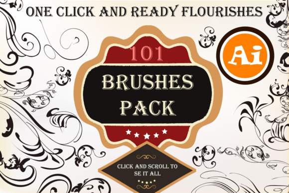 Big Set of Floral Brushes Graphic Brushes By fleurartmariia
