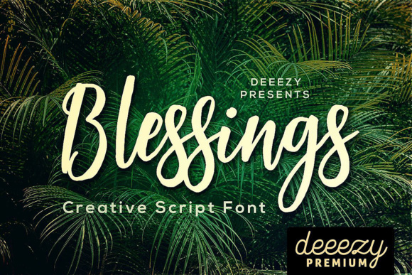 Download Free Blessings Font By Jumbodesign Creative Fabrica SVG Cut Files