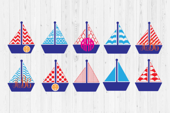 Download Free Boat Cut Files Graphic By Cutperfectstudio Creative Fabrica for Cricut Explore, Silhouette and other cutting machines.