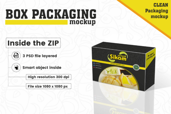 Box Packaging Mockup Graphic By gumacreative