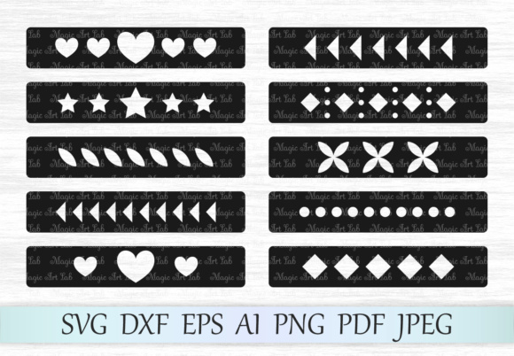 Bracelets SVGs Graphic Crafts By MagicArtLab