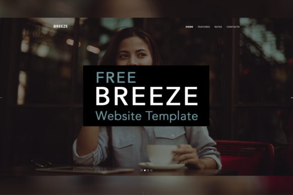 Breeze Website Template Graphic Websites By Creative Fabrica Freebies