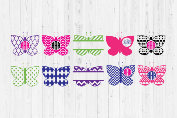 Download Free 16 Butterfly Svg Designs Graphics for Cricut Explore, Silhouette and other cutting machines.