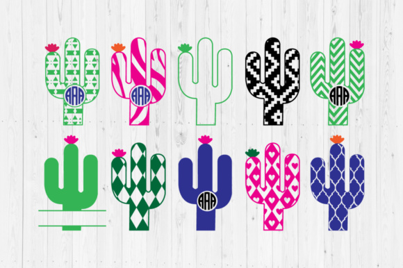 Download Free Cactus Files Graphic By Cutperfectstudio Creative Fabrica for Cricut Explore, Silhouette and other cutting machines.