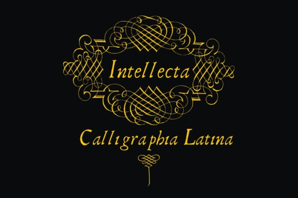 Print on Demand: Calligraphia Latina Dingbats Font By Intellecta Design