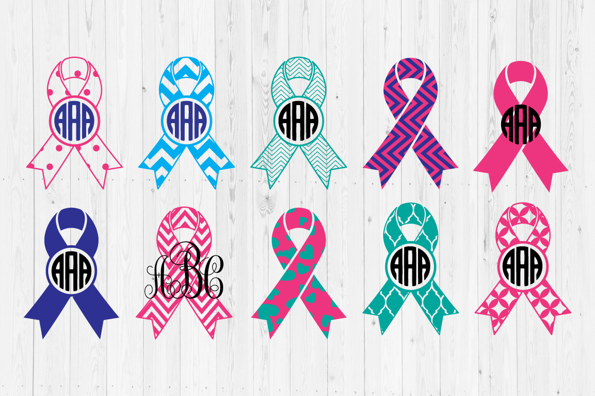 Download Free Cancer Ribbons Graphic By Cutperfectstudio Creative Fabrica for Cricut Explore, Silhouette and other cutting machines.