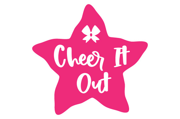 Cheer It out Dance & Cheer Craft Cut File By Creative Fabrica Crafts