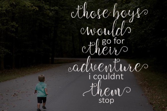 Print on Demand: Children Script & Handwritten Font By Youngtype - Image 3