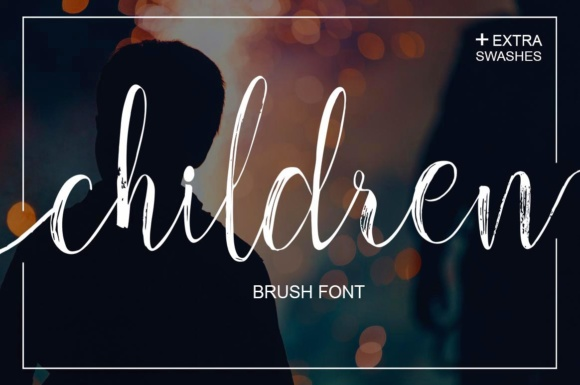 Print on Demand: Children Script & Handwritten Font By Youngtype - Image 1