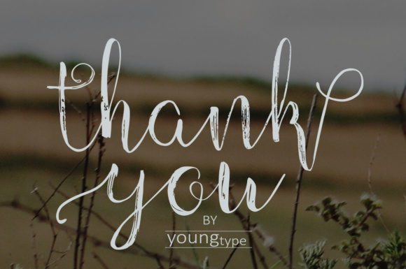Print on Demand: Children Script & Handwritten Font By Youngtype - Image 8