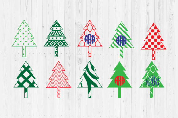 Download Free Christmas Tree Cut Files Graphic By Cutperfectstudio Creative for Cricut Explore, Silhouette and other cutting machines.