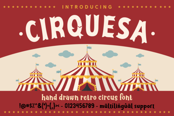 Print on Demand: Cirquesa Script & Handwritten Font By Keithzo (7NTypes)