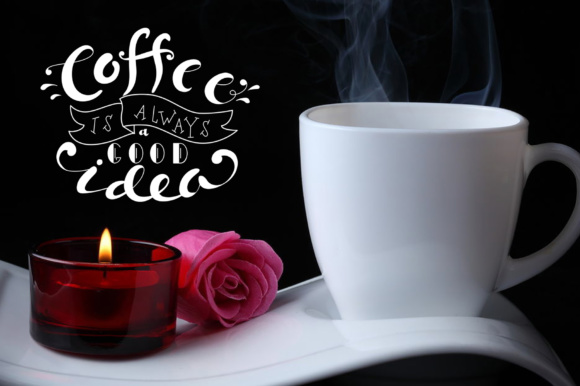 Coffee Lettering Pack Graphic By tregubova.jul Image 6
