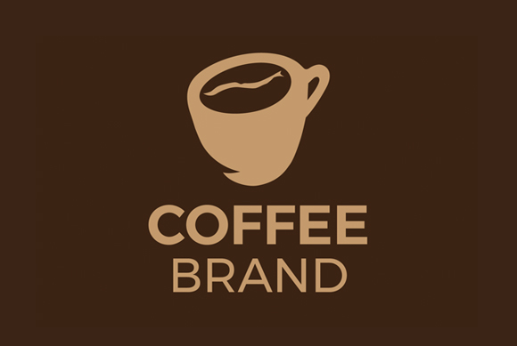 Download Free Coffee Logo Design Template Graphic By Pixiagraphics Creative for Cricut Explore, Silhouette and other cutting machines.
