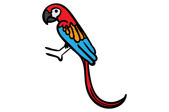 Download Free Colorful Parrot Svg Cut File By Creative Fabrica Crafts for Cricut Explore, Silhouette and other cutting machines.