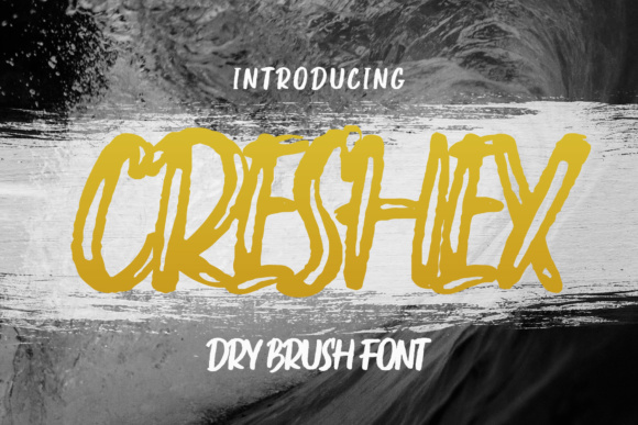 Print on Demand: Creshex Display Font By Emtheen Std.
