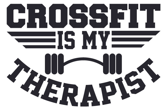 Download Free Crossfit Is My Therapist Svg Cut File By Creative Fabrica Crafts Creative Fabrica for Cricut Explore, Silhouette and other cutting machines.