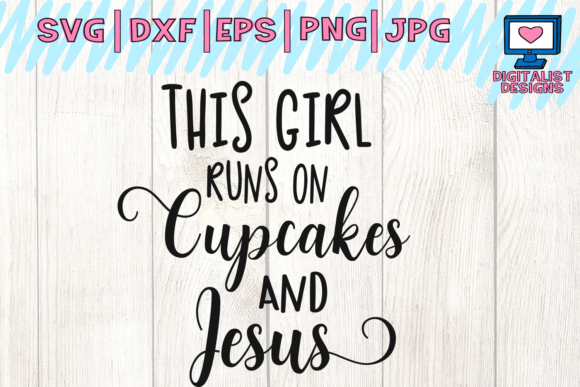 Download Free Cupcakes And Jesus Svg Graphic By Digitalistdesigns Creative Fabrica for Cricut Explore, Silhouette and other cutting machines.