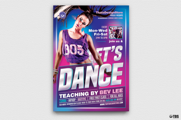 Dance classes flyer template graphic by thatsdesignstore creative dance classes flyer template saigontimesfo
