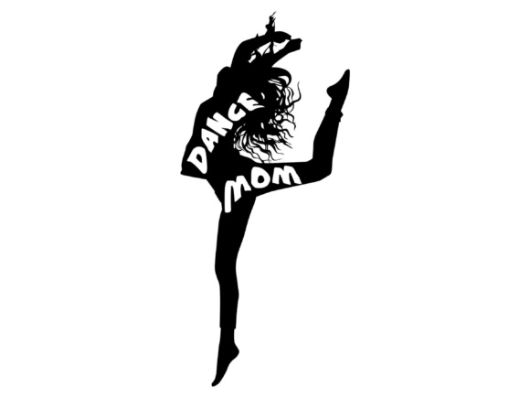 Dance Mom SVG DXF EPS  PNG Graphic By twelvepapers