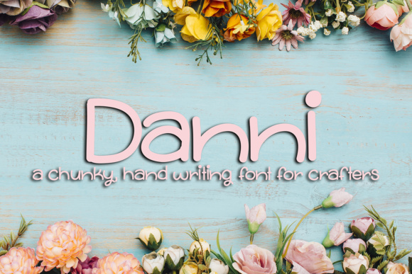 Print on Demand: Danni Script & Handwritten Font By Scout and Rose Design Co