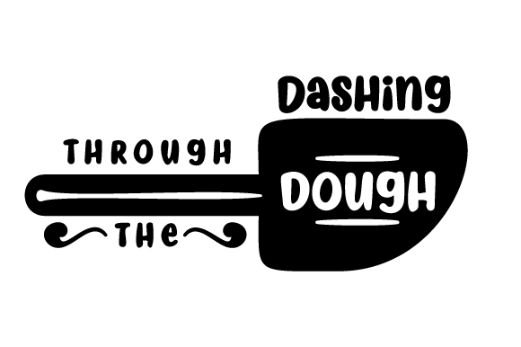 Download Free Dashing Through The Dough Svg Cut File By Creative Fabrica for Cricut Explore, Silhouette and other cutting machines.