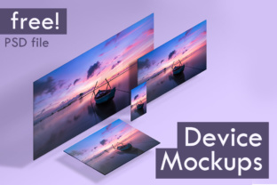 Device Mockups Graphic By Creative Fabrica Freebies