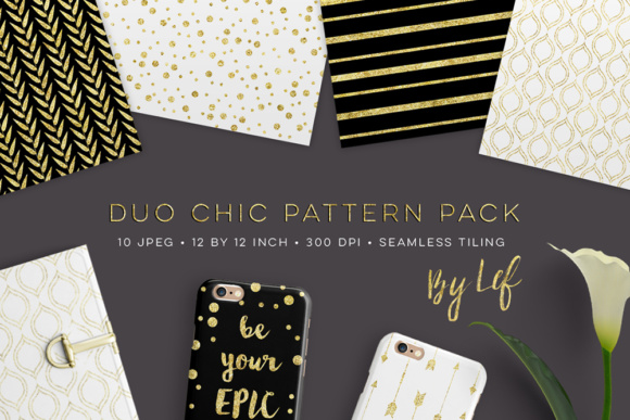 Download Free Digital Paper Pack In Dark Navy Blue And Gold Graphic By By Lef for Cricut Explore, Silhouette and other cutting machines.