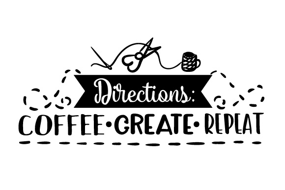 Download Free Directions Coffee Create Repeat Svg Cut File By Creative for Cricut Explore, Silhouette and other cutting machines.