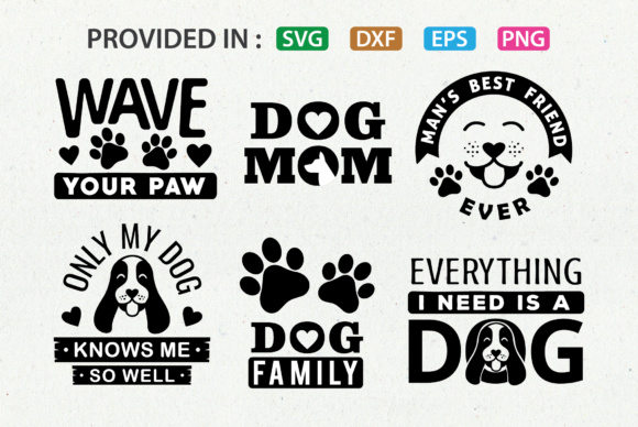 Download Free Dog Lover Svg Set Graphic By Great19 Creative Fabrica for Cricut Explore, Silhouette and other cutting machines.