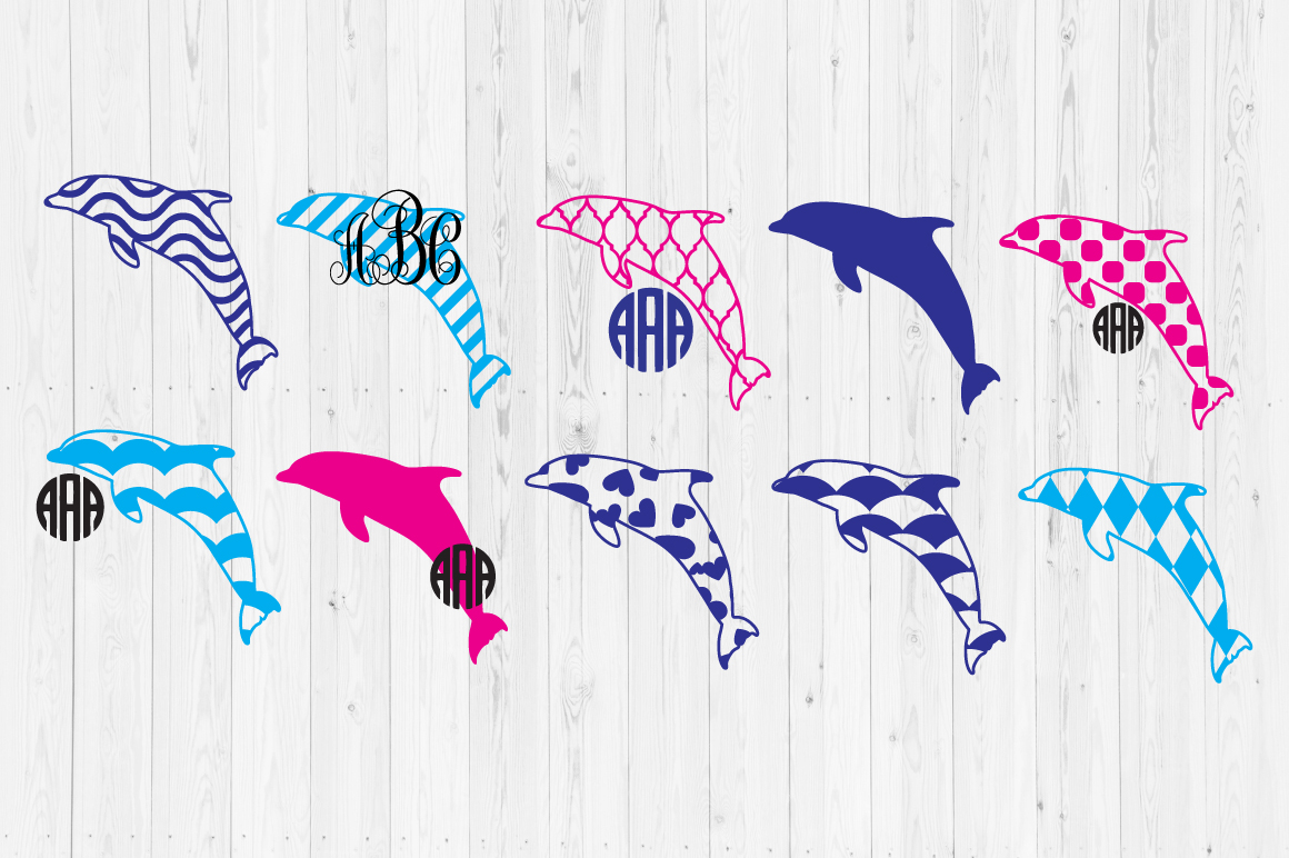 Download Free Dolphine Graphic By Cutperfectstudio Creative Fabrica for Cricut Explore, Silhouette and other cutting machines.