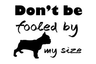 Download Free Don T Be Fooled By My Size Svg Dxf Eps Png Grafico Por for Cricut Explore, Silhouette and other cutting machines.