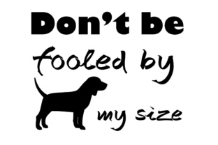 Download Free Don T Be Fooled By My Size Graphic By Twelvepapers Creative for Cricut Explore, Silhouette and other cutting machines.