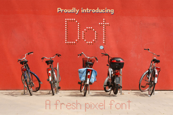 Print on Demand: Dot Display Font By Markus Schroppel