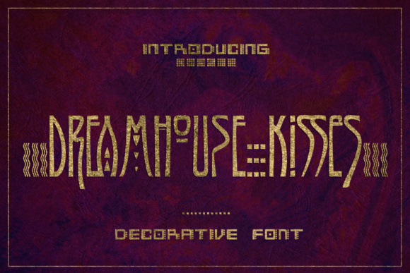 Print on Demand: Dreamhouse Kissies Display Font By Jvne77