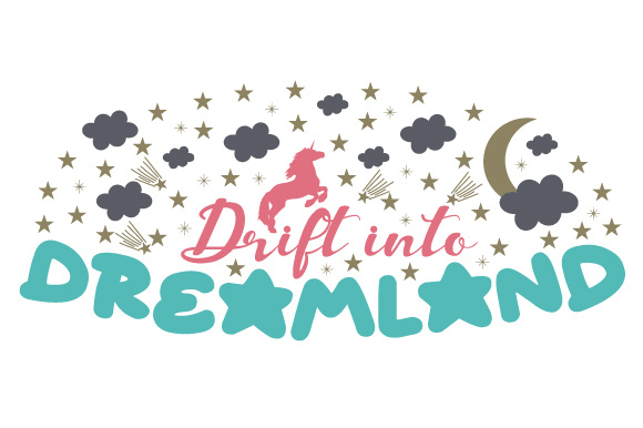 Drift into Dreamland Bedroom Craft Cut File By Creative Fabrica Crafts