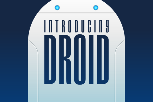 Print on Demand: Droid Display Font By Typodermic