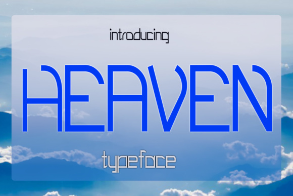 Print on Demand: EP Heaven Display Font By Emily Penley Fonts