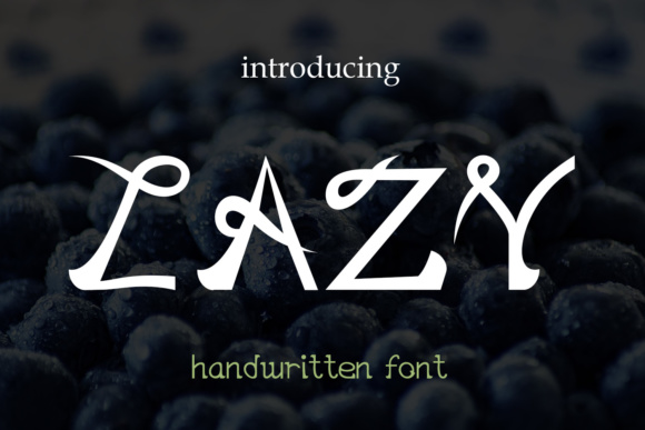 Print on Demand: EP Lazy Script & Handwritten Font By Emily Penley Fonts - Image 1