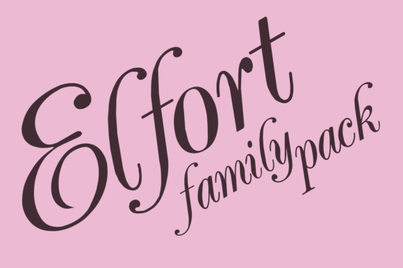 Elfort Display Font By Intellecta Design